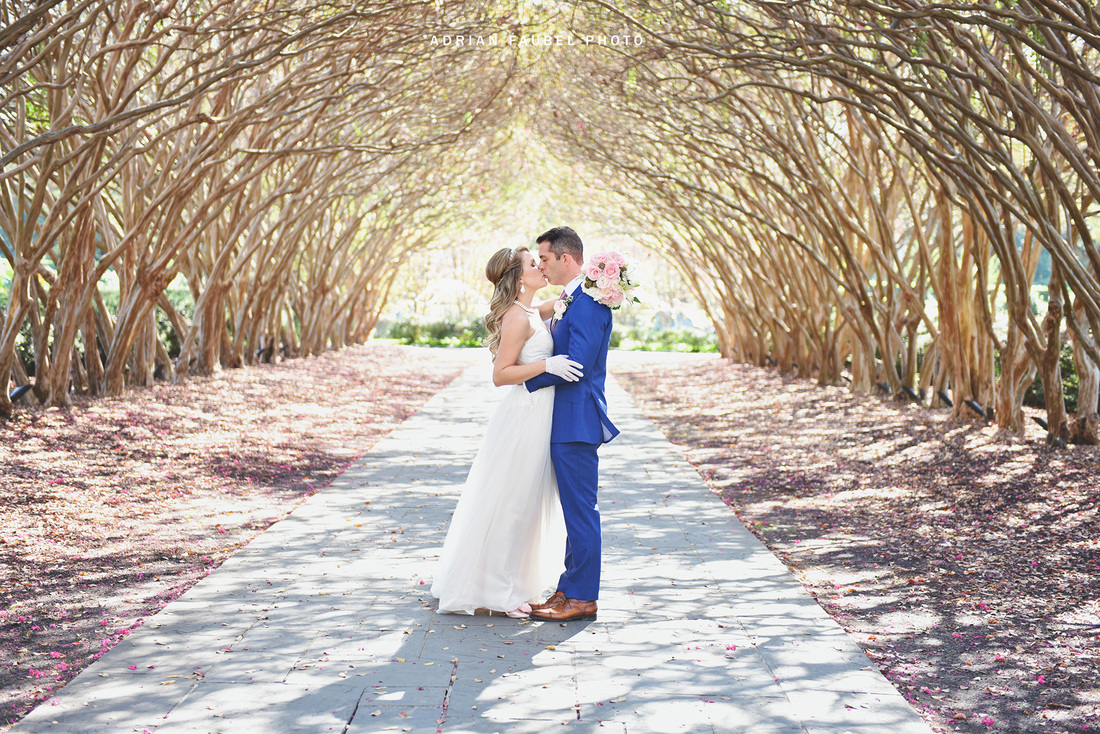 Dallas Wedding Arboretum